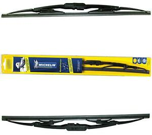 Michelin Rainforce Traditional Wiper Blades Pair 15 22 For Chevrolet Spark