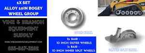 10 Inch Alloy Mid bogie Wheel Kit Caterpillar 277 287 267b