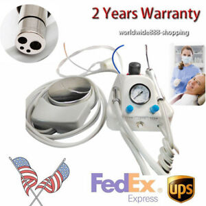 4 hole Dental Lab Portable Air Turbine Unit Compressor Delivery Unit Machine New
