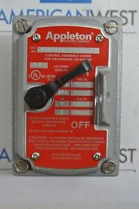 Appleton Edsf22q Explosion Proof Cover New No Box