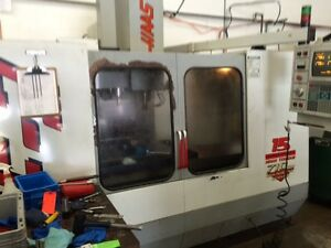 Haas Vf 3 Cnc Vertical Machining Center Mill Ct40 4020 4th Axis Ready Rigid 96
