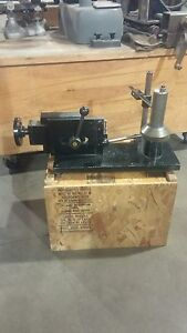 Weinig Moulder Measuring And Stone Making Stand Plus Misc Jointer Parts