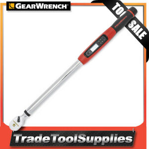Gearwrench Torque Wrench Electronic Digital 1 2 25 1 250 8 Ft lbs 85077