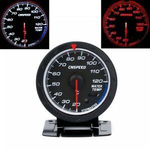 Universal 2 5 60mm Auto Car Water Temperature Gauge 20 120 Water Temp Meter