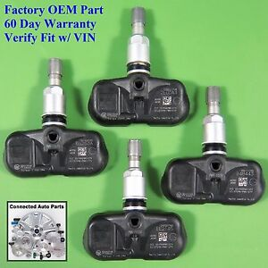 Set Of 4 Cube Juke Rogue Tire Pressure Sensor Tpms Oem 40700 jk00e Set ts39