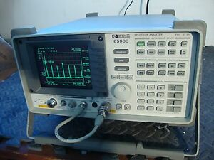 Hp Agilent 8593e Spectrum Analyzer W Tracking Generator 26 5 Ghz Pick Options