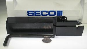 Seco Cfml10006d External Lathe Turning Grooving Carbide Insert Cnc Tool Holder