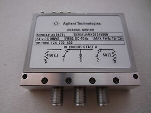 Agilent Coaxial Switch N1810tl Dc 4 Ghz brand New