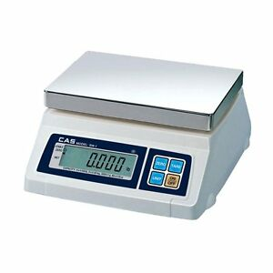 Cas Sw 10 Portion Control Scale 10lb Ntep legal For Trade Brand New