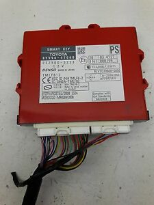 11 Toyota Prius Smart Key Control Module Computer 89990 47060 Oem As10