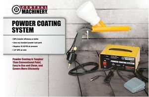 Powder Coating System Complete 10 30 Psi Paint Gun Perfect For Home Or Shop