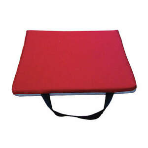 Im Closed Cell Foam Rubber Kneeling Mat 12 X 24 In Red gray 979 11 Red gray