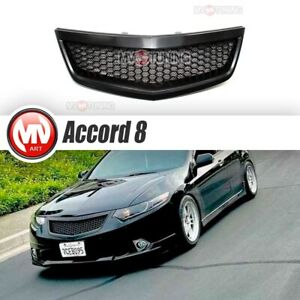 New Front Grill Sport With Abs Mesh For Honda Accord 8 Cu Acura Tsx 2011 2014