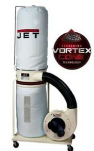 New Jet 710703k Dust Collector 2 Hp 3ph 230 460 V