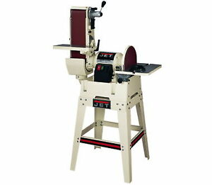 NEW Jet 708599K 6 In. x 48 In. Belt  12 In. Disc Sander