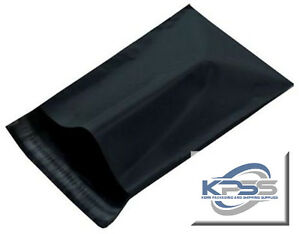 7 5x10 5 Black Polymailers Poly Mailer Uneekmailers Same Day Shipping Avail