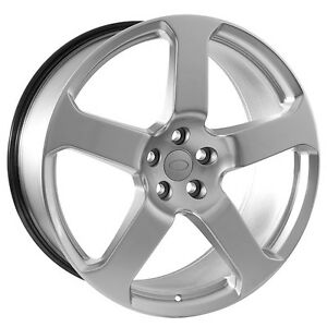 22 Inch Silver Land Rover Wheels Rims slv 22 ldr 150