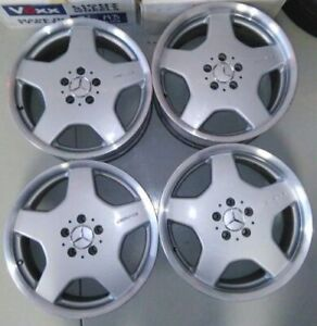 Mercedes Benz S55 Cl55 E55 Amg 18 Monoblock Oem Staggered Refinished Wheels