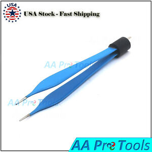 Bipolar Micro Adson Forceps Foot Activated Reusable Electrosurgical El 021