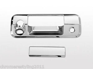 Toyota Tundra Chrome Tailgate Handle Cover 2007 2010 With Camera Hole