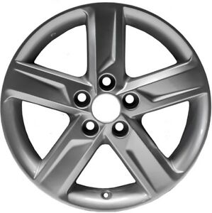 2012 2014 Toyota Camry 17 X 7 Inch Light Gray Painted Alloy Wheel Oem Replica