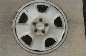 1998 2007 98 07 Subaru Forester 16x6 5 Steel Wheel 5 Spoke