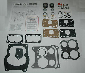 1971 72 Plymouth Carb Rebuild Kit Holley List 6711 Ethanol Tolerant New