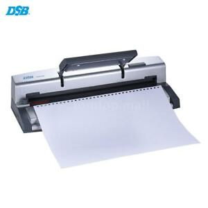 A4 Paper Notebook Puncher Binder Punching Machine 6 4mm Wire Binding Comb T1v4