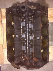 1969 Chevrolet Engine Block 3932386 350 Or 302 Corvette Camaro Standard L 30 8
