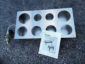 Precision Lab Concentric 8 Hole Water Bath 51220042 2898 New Nos 199