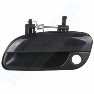 For 2001 2005 Hyundai Elantra Door Handle Black Exterior Front Left Driver Side