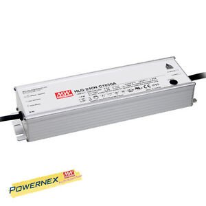 powernex Mean Well New Hlg 240h c2100b 2100ma 59 119v 250w Led Driver