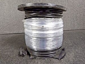500 Ft Stranded Building Wire Thhn 4 Awg Black 20499001 dr