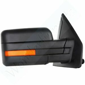 For 2007 14 Ford F150 Power Heated Led Signals Passenger Side View Mirror Right
