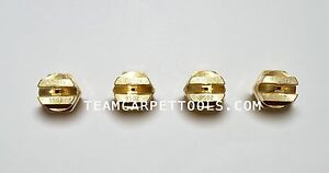 Carpet Cleaning Wand Replacement Brass 1 8 V jets 9502 Vee Jets 4 Count
