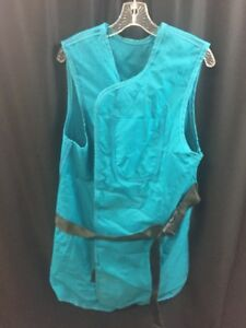 Posi techna X ray Protective Coat Vest Apron Front Back Protection Teal