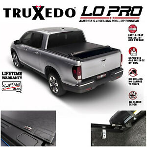 Truxedo Lopro Qt Inside Rail Tonneau Cover For 2017 2019 Honda Ridgeline 5 5 Bed