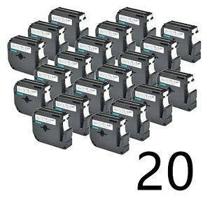 20 Compatible Brother M231 M k231 Mk231 Label Tape For P touch Pt 70hol Us stock