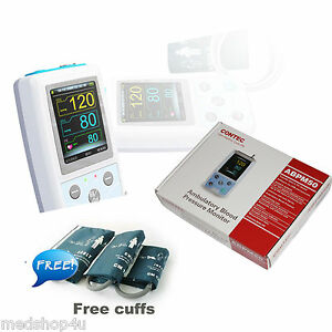 Contec Ambulatory Blood Pressure Monitor usb Software 24h Nibp Holter Abpm50 us