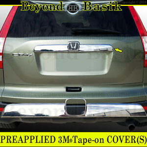 2007 2008 2009 2010 2011 Crv Honda Triple Chrome Abs Tailgate Molding Accent