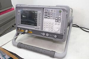 Agilent Hp E4411a Esa l1500a Spectrum Analyzer W Tracking Generator Calibrated