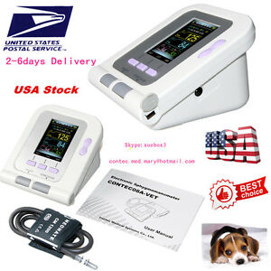Us Contec08 vet Digital Blood Pressure Monitor veterinary vet animal Nibp fda Ce