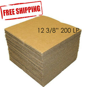 200 Lp 12 3 8 Record Mailer Insert Pads Scrapbook Album Boxes Catalog Packing