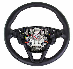 Oem New 2016 17 Ford Edge Fusion Black Leather Steering Wheel Asc Ds7z3600be