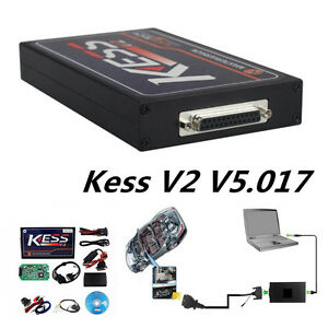 Portable Kess V2 V5 017 Obd2 Obd Ii Manager Tuning Kit Car Truck Ecu Programmer