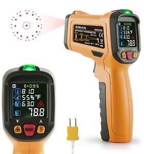 Infrared Thermometer Janisa Digital Laser Non Contact Ir Temperature Gun Ad6530d
