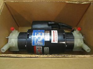 March Manufacturing Magnetic Drive Fluid Pump Dual Head Centrifugal 3c2 42320