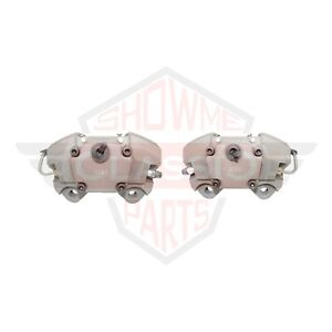Front Brake Calipers Set S Type For 70 77 Porsche 911 T S Rs Turbo Alumin 48mm