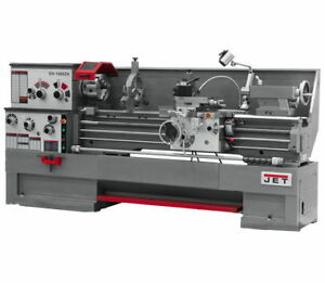 New Jet 321930 Gh 1640zx Large Spindle Bore Lathe