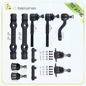 Ball Joint Tie Rods Control Arm Kit For 1973 1974 Chevrolet C20 C30 Pickup